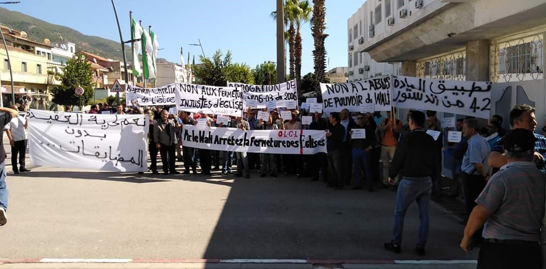 Manifestations algerie